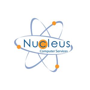 nucleus logo design